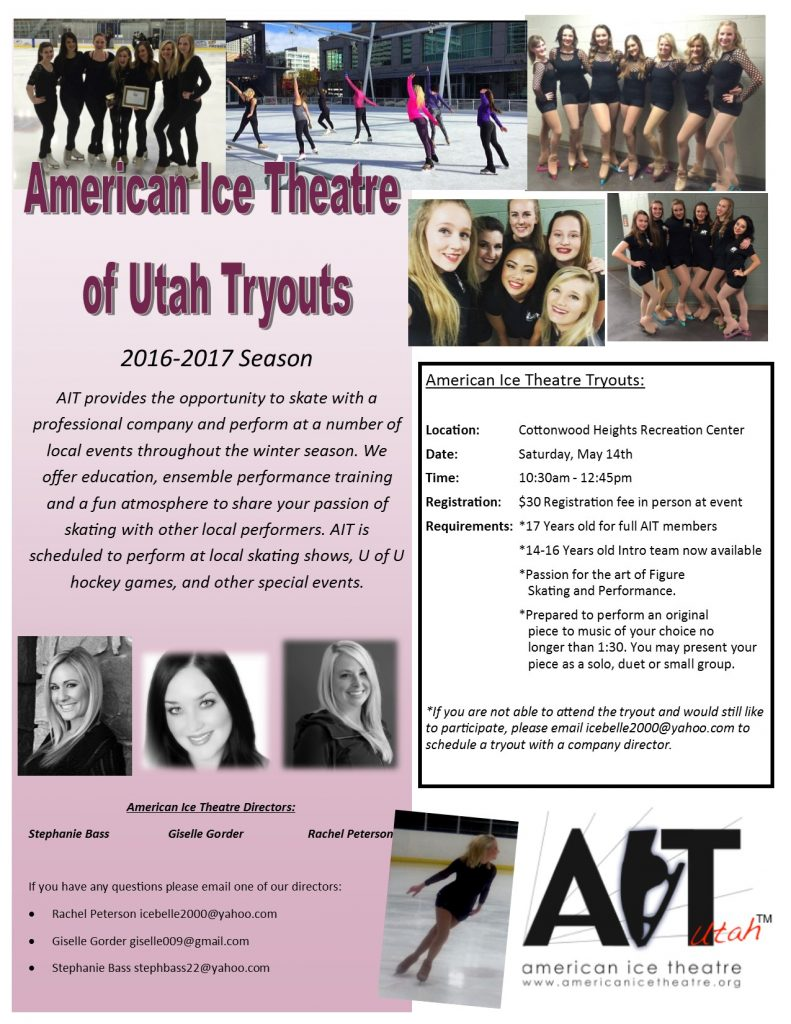 2016-17 Tryout Flyer
